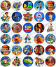 30 x Toy Story 4 Party Collection Edible Rice Wafer Paper Cupcake Toppers