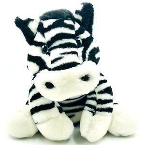"Fao Schwarz Fifth Avenue Zebra 11"" Plush Stuffed Animal Plush HTF Quality Made"