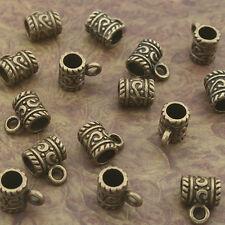 20pcs antiqued bronze color bail charm fit europe bracelet 8011-B