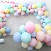 200 pcs Multicolor Macaron Candy Colorful Balloon Birthday Party Pastel Balloons