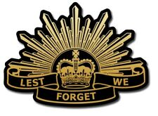 Australian Army Sticker / Decal - The Seventh Pattern Rising Sun Military ANZAC