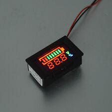 Volmeter LED Color Digital Display Voltage Meter Panel Gauge Tester Detector