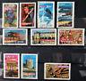 Lot de 10 timbres oblitérés 2003 - 2004  FRANCE - Portraits de Régions
