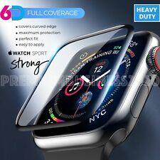 Pellicola Protezione Totale CURVO 6D per VETRO Apple Watch 6 5 4 3 2 44 42 40 38