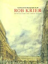 ROB KRIER ARCHITECTURE AND URBAN DESIGN  AA.VV. ERNST & SOHN 1993