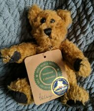 Boyds Bears Plush Percy Fabric Archive Bear Teddy Award 572511