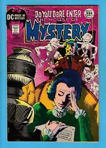 HOUSE OF MYSTERY # 194 FN (6.0) WRIGHTSON CVR- TOTH ART_UNSTAMPED CENTS DC_1971