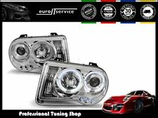 FEUX AVANT PHARES LPCH09 CHRYSLER 300C 2005 2006 2007 2008 2009 2010 ANGEL EYES