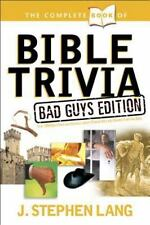NEW - The Complete Book of Bible Trivia: Bad Guys Edition