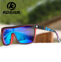 KDEAM Men's Large Frame Polarized Sunglasses Outdoor Riding Fishing Goggles New