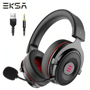 ESKA PRO Gaming Headset Gamer E900 Surround Sound Wired Led Usb 3.5mm with MIC