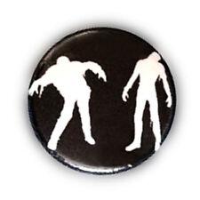 Badge ZOMBIE zombies monstres vampire dead walking freak halloween button Ø25 mm
