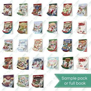 Hunkydory Little Book - cardmaking scrapbooking - Christmas designs !FREE P&P!