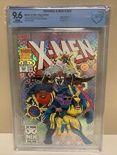 Uncanny X-Men #300 CBCS 9.6! Anniversary Issue WHITE PAGES Foil Cover!