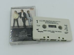 Huey Lewis & The News FORE! Cassette Tape Chrysalis Records 1986