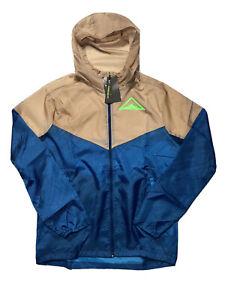 Nike Windrunner Men's Hooded Trail Running Jacket CQ7961 432 Multiple Sizes