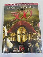 LA ULTIMA BATALLA DE LOS 300 + ESPARTA - 3 X DVD ESPAÑOL ENGLISH Nuevo