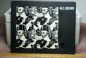 """M.C. Escher 1990 Sliding Jigsaw Puzzle 49 Tiles """" Eight Heads """" 1922 RARE"""