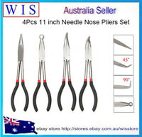 4/PK 11 inch Needle Nose Pliers Set Long Reach Tool Pliers