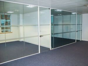 Glass Wall Services Fully Installed