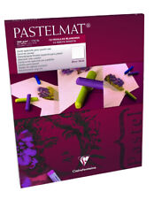Clairefontaine Pastelmat Paper Pad 12 Sheets - White (no 1) - Choose Size