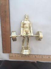 Weightlifting Trophy Topper