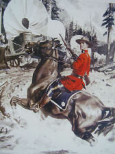 Canadian Mountie Horse Wagon train  RCMP