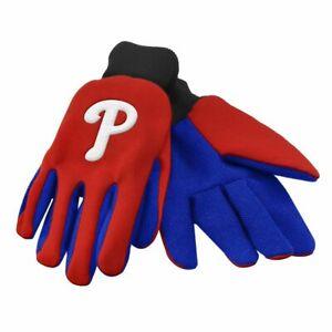 Men Garden Gloves Licensed MLB Utility Work Team Baseball Philadelphia Phillies