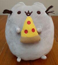"GUND Pusheen Snackables Pizza Cat 9.5"" Plush Stuffed Animal, Gray"