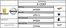 KIT TAGLIANDO 4 FILTRI RENAULT CLIO III 1.5 DCI (05>08) DIESEL /NISSAN MICRA 1.5