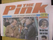 07/02/1998 Coventry Evening Telegraph The Pink: Main Headline Reads: Dublin Give