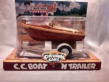 CHEVRON CARS C C BOAT N TRAILER FLOATS HITCHES TO CARS