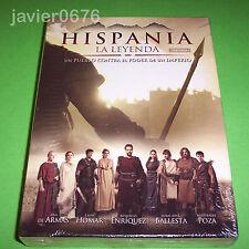 HISPANIA LA LEYENDA PRIMERA TEMPORADA EN DVD PACK NUEVO Y PRECINTADO 4 DISCOS