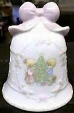 1997 Precious Moments Christmas Bell Porcelain Enesco Songs of Joy Holiday