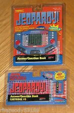 Sealed - JEOPARDY Tiger Electronic Talking Handheld Game + Book/Cartridge #5