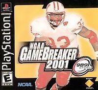 NCAA GameBreaker 2001 (Sony PlayStation 1, 2000)