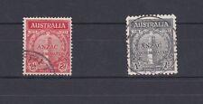 Australia 1935 Anzac Issue SG 154/55 Fine Used