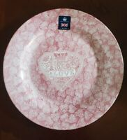 NEW (4) ROYAL WESSEX RED WHITE VALENTINES LOVE HEARTS DINNER PLATES HOME DECOR