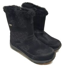 Merrell Albury Womens Tall PolarBoots Shoes Size 7 Black Waterproof Mid Calf