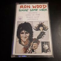 Ron Wood - Gimme Some Neck UK Tape Cassette (Rolling Stones) Rock 1979 Rare