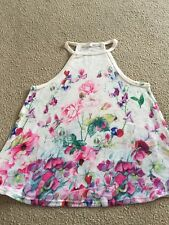 FLOWERED TOP SIZE SMALL