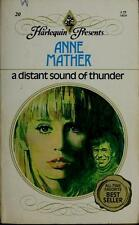A Distant Sound of Thunder (Harlequin Presents Ser., No. 20) by Mather, Anne