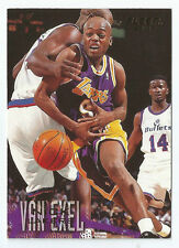 CARTE DE COLLECTION NBA BASKET BALL FLEER 96-97 1996 NICK VAN EXEL N°56
