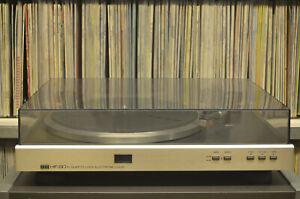 ITT HIFI 8015 Plattenspieler wie NEU / Near Mint (MITSUBISHI DP-EC20) ohne Haube
