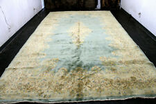 9X16 1940's Breathtaking Antique 70+Years Hand Knotted Wool Kermann Oriental Rug