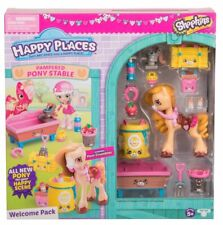 Happy Places Shopkins Welcome Pack Pampered Pony Stable Poni Crumbles