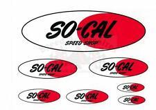 7 pièces autocollant set la marque culte so-Cal hot rod ratrod kustom vintage race