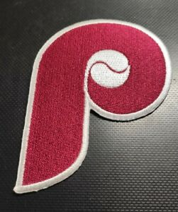 """Philadelphia Phillies  """"P"""" Embroidered Patch"""