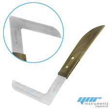 YNR L-Sickle Veterinary Equipment Hoof Knife Shoe Repair tool Horse Knife Right