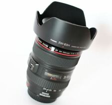 Canon EF 24-105mm f/4 L IS USM Lens + EW83H Hood (White Box) Express Shipping